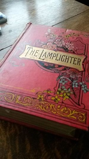 Original 1892 1st edition 'The Lamplighter' Found in my mums book collection Vintage