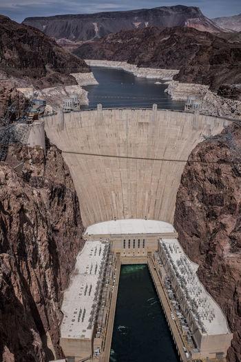 Hoover dam, nevada, arizona, usa