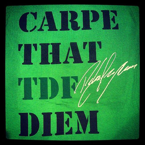 carpe that TDF diem Ppctriko Limitededition Petersagan Varsityproject