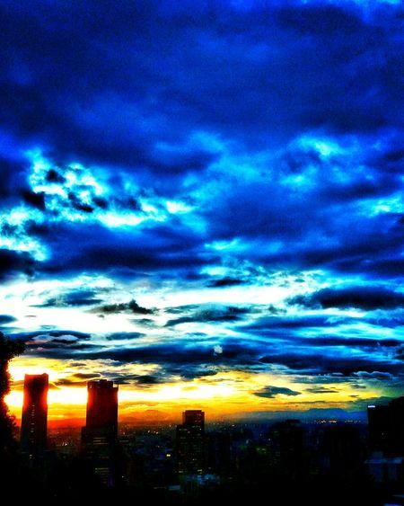 Bogotacity Cold Days Colombia Azul Profundo Color Manipulation