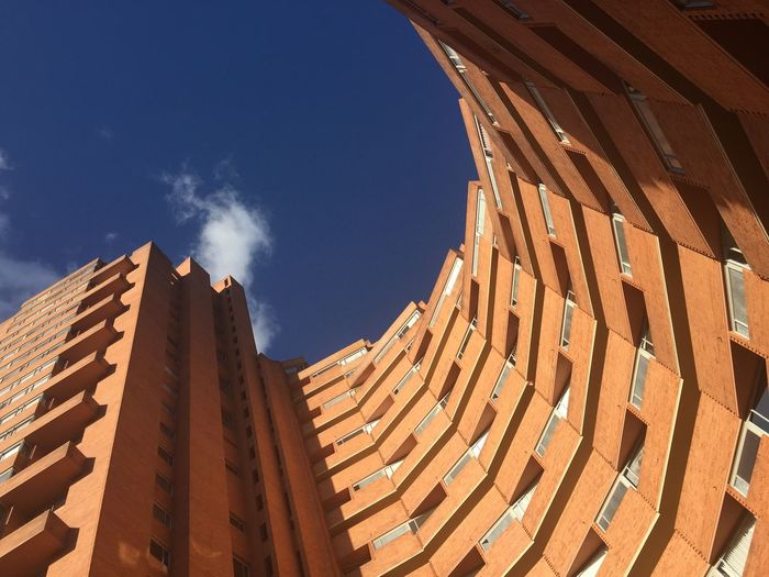 Negative Space Architecture Colombia Park Towers Sky