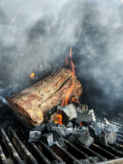 Ash Bonfire Burning Burnt Campfire Close-up Day Environment Event Fire Fire - Natural Phenomenon Firewood Flame Heat - Temperature Log Nature No People Outdoors Smoke - Physical Structure Wood Wood - Material