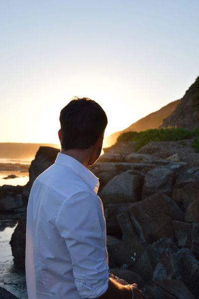 Beach Nofilter Relaxing Sunset
