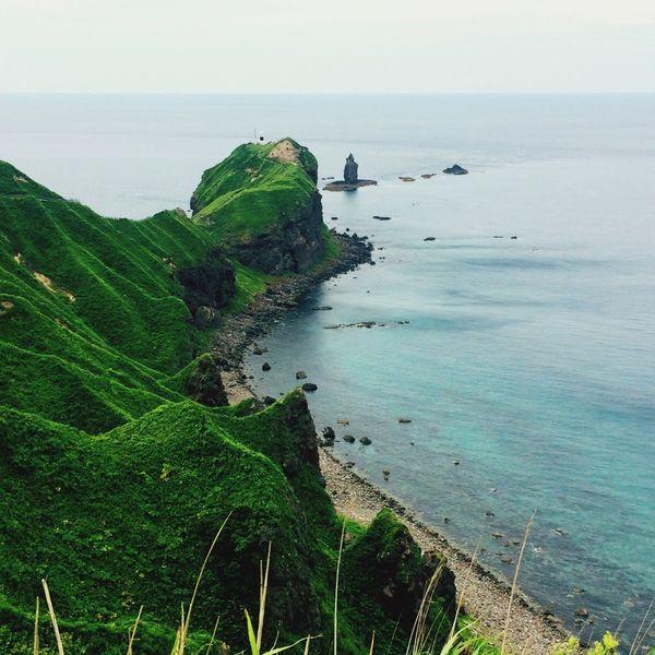 積丹 岬 Sea Hokkaido Japan