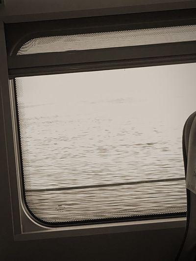 Window Journey Water Sea Yht