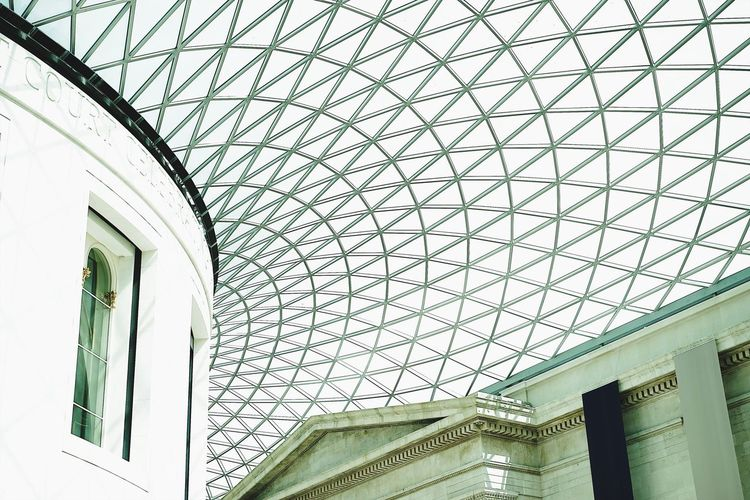 ConcavePoint Architecture Built Structure Ceiling Low Angle View Indoors  Modern No People Window Day Britishmuseum The Street Photographer - 2017 EyeEm Awards BYOPaper! Live For The Story The Architect - 2017 EyeEm Awards