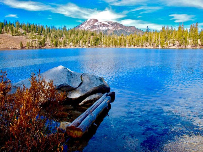 Mammoth Mountain Eastern Sierras Mammoth Lakes, CA Lake George Water Beauty In Nature Tranquil Scene Scenics - Nature Tranquility Tree Plant Lake Nature Idyllic No People Mountain