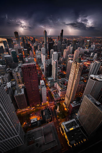 Chicago and lightning