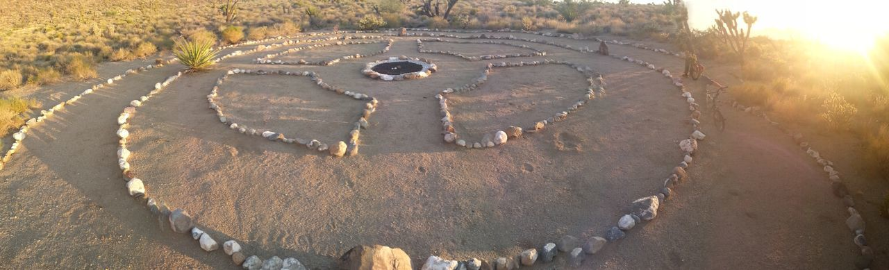 Native American Paiute Tribe Rock Art