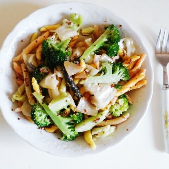 Home Made Food Dietfood Pasta Salad Yummy :) Delicious ♡ Joyfullife Cooking Dinner Delicious Food Open Edit in Seoul