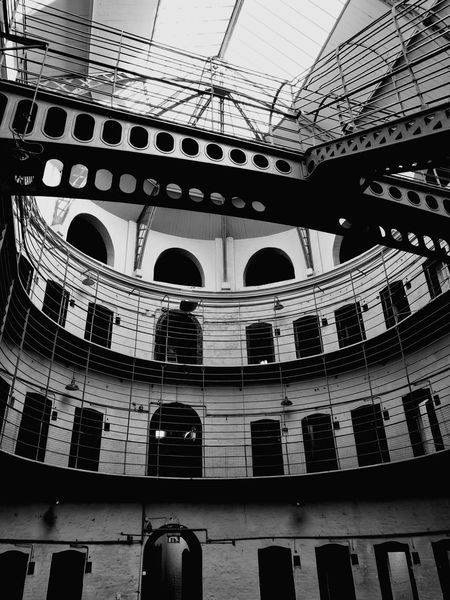 Architecture Built Structure Indoors  No People Day Prison Cell Prison KilmainhamGaol Dublin, Ireland Travel Destinations History Indoors  Architecture