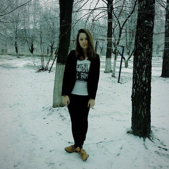 я снег холодно ноябрь