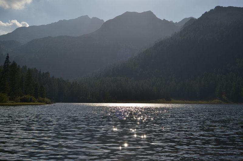 Lake Malga Mountain Water No People Day Outdoors