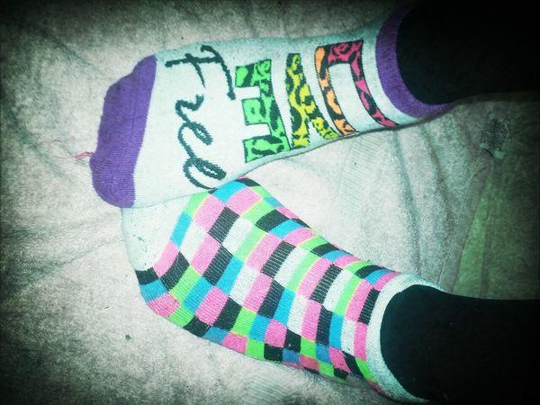 Missmatch socks! Whad it doooo Eclectic Wild Weird RAD