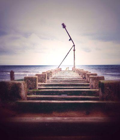 Pier Englishseaside Sea Seaside Ocean Englishchannel Waterfront