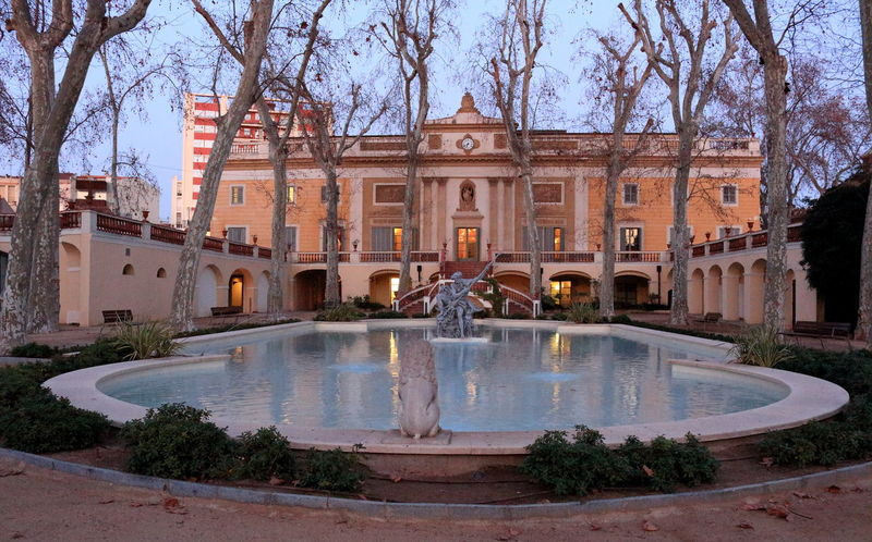 Palau falguera Agua Fuentes Jardin Palau Palau Falguera