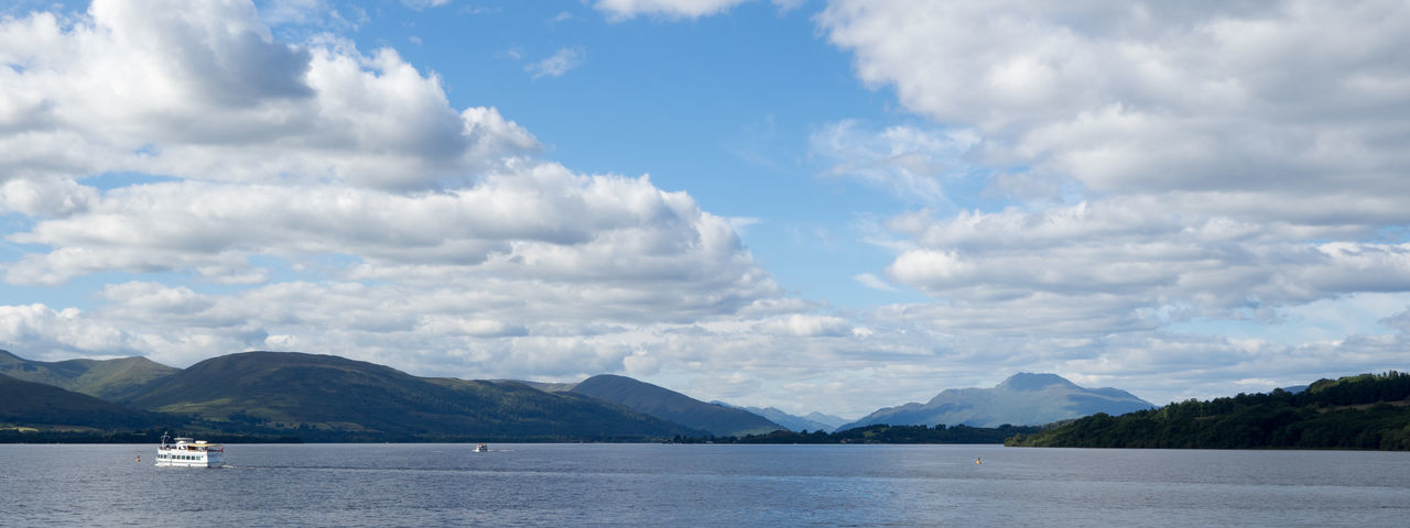 Scenic View over Loch Lomond Captain Haddock Scotland Beauty In Nature Day Loch Lomond Nature No People Outdoors Scenics Sky Tintin Water