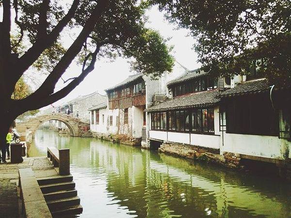 Zhouzhuang River Ancient VSCO Phone Photo Beautiful Spring 小桥流水人家