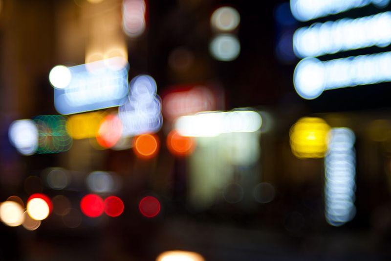 Bokeh Citiy Night Neon EyeEm Best Shots