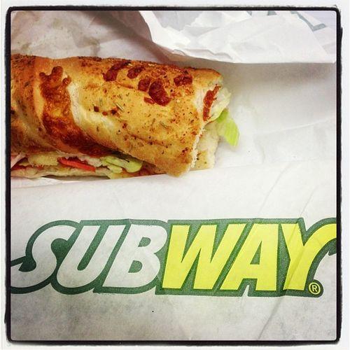 2: lunchtime #fmsphotoaday #photoadayoct yum #subway Subway Fmsphotoaday Photoadayoct