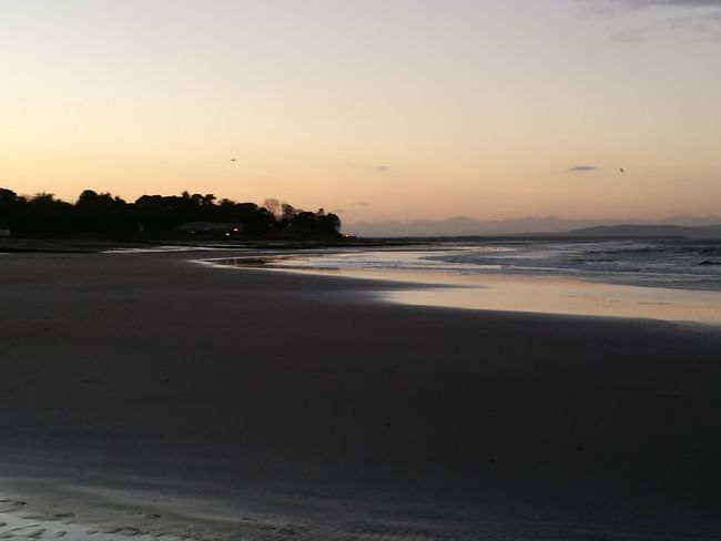 Beach Sea Sunset Water Outdoors Sand Nairn Nairn Scotland Beach Sunset Travel Nature Wave Scenics Horizon Over Water Vacations Beauty In Nature No People Sky Day