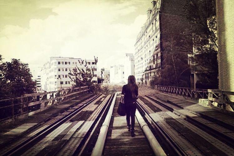 Paris La Petite Ceinture Retro