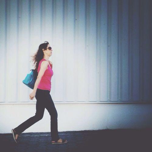 Hurried girl Shootermag AMPt_community Walking Walking Around