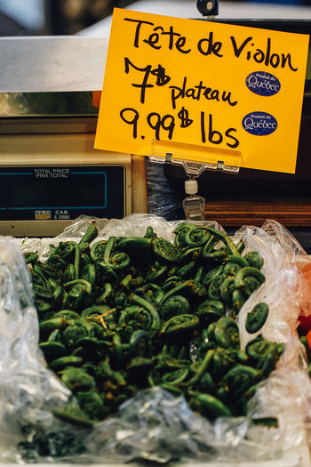 """""""La spesa"""" time 18-105mm Atwater Healty Food Lifestyle Market Sony A6300 Tourist Attraction  Urban Lifestyle Atwater Market Canada Coast To Coast Choice Close-up Communication Day Farmer Market Food Food And Drink For Sale Freshness Green Color Healthy Eating Healthy Lifestyle Healty Lettuce Lifestyles Market Market Stall No People Outdoors Price Tag Retail  Small Business Text Tourist Destination Travel Destinations Urban Variation Vegetable"""