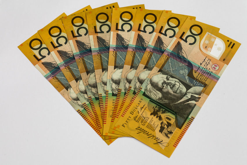 Australian $50 fanned out Australia Australian Currency Economy Index Interest In Life Rate Super Bank Banking Buy Capital Cash Earnings Finance Financial Fund Investment Monetary Money Note Retirement Saving Superannuation Wealth