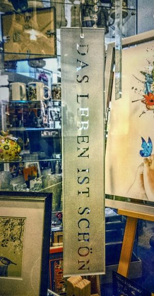 Taking Photos Enjoying Life Relaxing Quotes Storehouse Store Window Store Decor Storefront View Warm Colors Colorful Das Ist Schöne Popular Photos No People Eye4photography  EyeEm Best Shots Inspirational Inspiring Inspirational Quote Window View Store Decoration Decorative