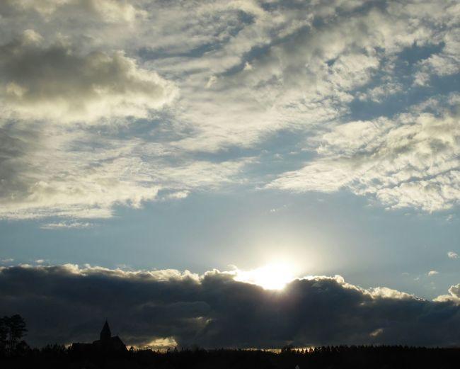 Clouds And Sky Taking Photos Godscreation Sunrise_sunsets_aroundworld Sunset #sun #clouds #skylovers #sky #nature #beautifulinnature #naturalbeauty #photography #landscape Alabama BrookHighland