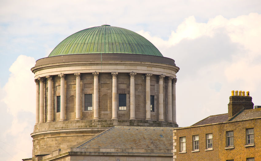 Four Courts, Dublin, Ireland - home of Irelands Supreme Court Architecture Building Exterior Built Structure Circuit Court City Day Dome Dublin Four Courts High Court History Ireland Judge Jury Monument No People Outdoors Politics And Government Supreme Court Travel Destinations