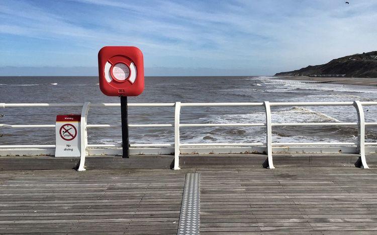 Rule Of Thirds Seaside Pier Sea Cromer
