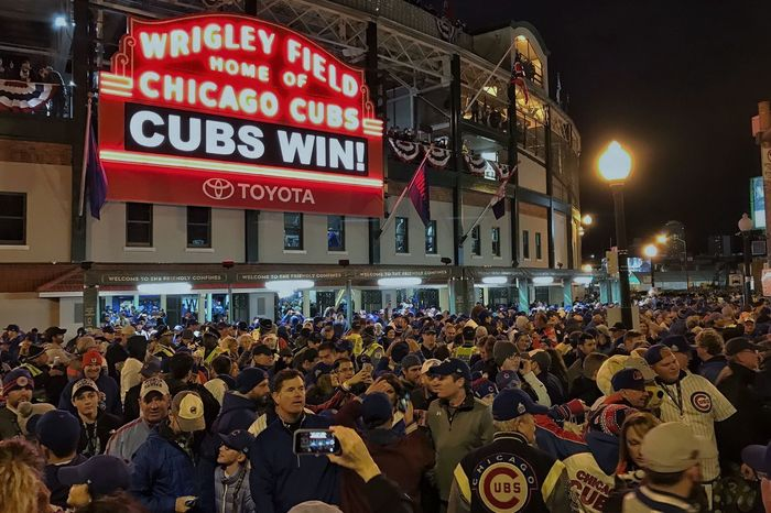 Game 5 of the World Series was amazing! Chicago Cubs  Baseball
