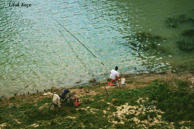 Fisherman Beauty In Nature Riverside River Traveler Hello World Nicecity Enjoyinglife  Travel Photography Amazing Open Edit Photographer Myobjective Nikon D5200 NiceShot Rome, Italy