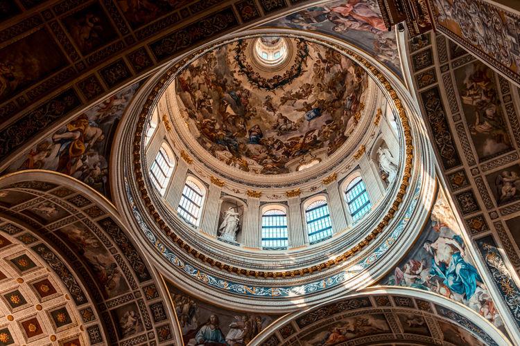 Saint andrea basilica dome mantova italy