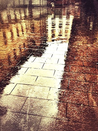 Reflection Rain Im Only Happy When It Rains Rainy Days