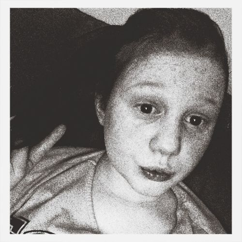 Me black and white