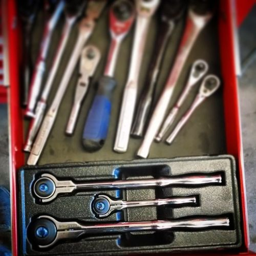 Been waiting for a swivel ratchet set for forever it seems! Nevertoomany Cornwelltools BLUEpower