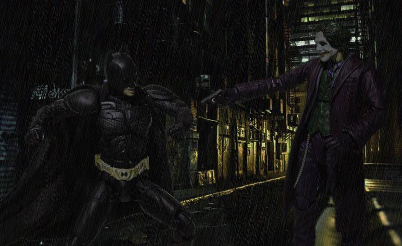 The dark knight Thedarkknight Joker Batman DCcomic DC Toys HERO superhero Superheroes Toy Photography Photoshop Edit