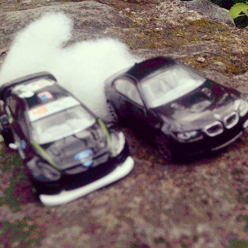 '12 Ford fiesta, BMW M3 HotWheels Hotwheelsrace Race Car instanesia instamoment instamood instagood picoftheday photooftheday