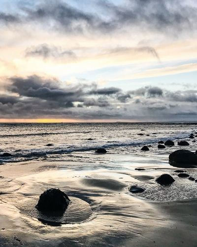 last light and beach walk Landscape_Collection Scenic Scotland TheWeekOnEyeEM Travel Travel Photography Beach Beauty In Nature Cloud - Sky Horizon Over Water Landscape Nature No People Outdoors Sand Scenics Sea Sky Sunset Tranquil Scene Tranquility Travel Destinations Water