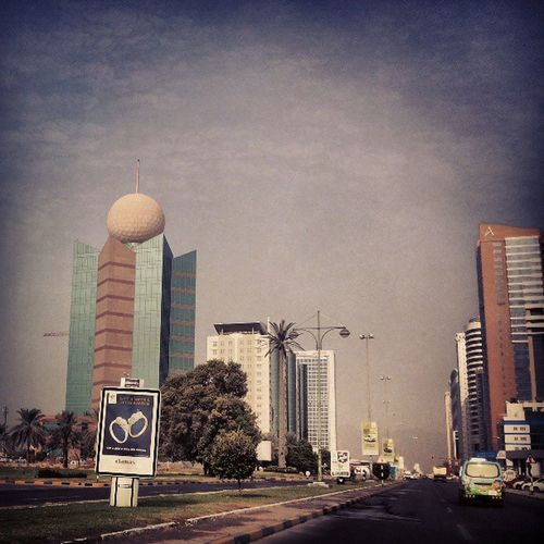 Fujairah Etisalat tower