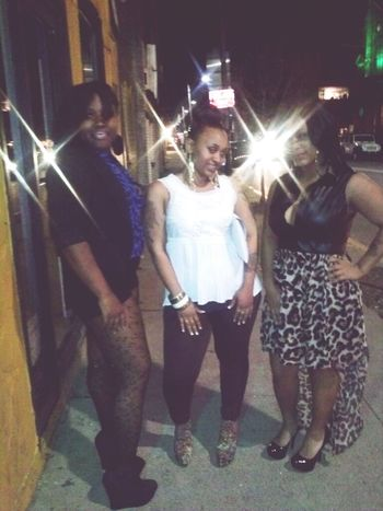 Had a fun night with my bitches