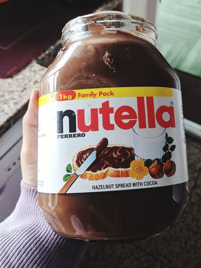 Nutella ♥ Nutella Time Nutellalove Text Close-up Food And Drink Sweet Food Chocolate