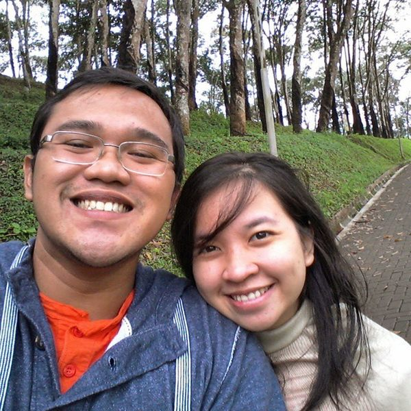 Jalan2 sore 😆😆 with @ilmayudistian Happy Couple Banaran Jawatengah Precious Moment