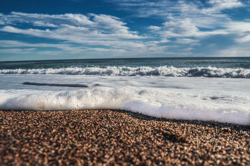Sea foam Beach