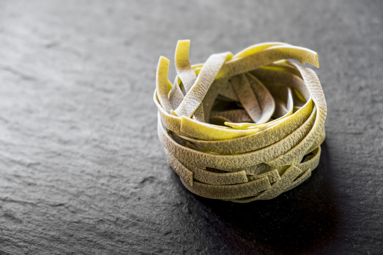 Ardesia Close-up Day Diet Handmade Pasta Homemade Food Homemade Pasta Italy Mediterranean Food No People Pasta Pasta Time Spinach Stone Material Tagliatelle