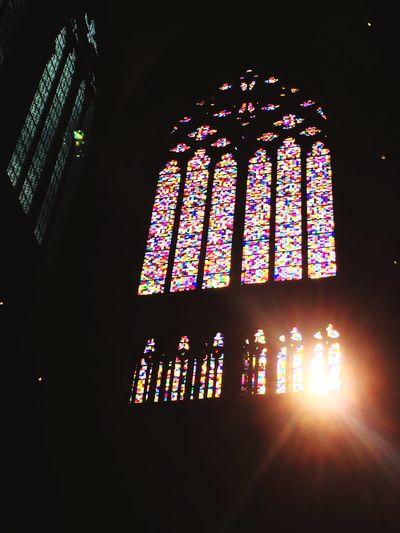 Gerhard Richter Window Religion Church Köln Kölner Dom Cologne Cologne Cathedral Colorful Architecture Design Squares Light Sun