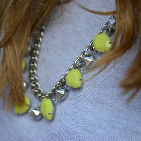 @hm Necklace Yellow Fluo  Neon Lowcost Sister @vany978